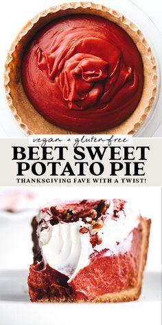 Healthy Deserts, Healthy Sweets, Vegan Desserts, Gluten Free Baking, Vegan Baking, Sweet Potato Dessert, No Dairy Recipes, Vegan Treats, Pumpkin Recipes