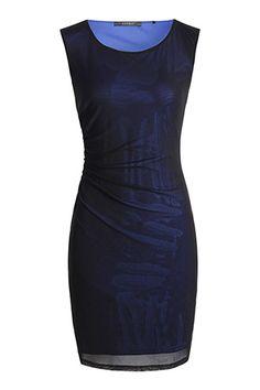 mesh shift dress