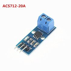 #trendy Product Description : The current sensor chips: ACS712ELC-20A; Pin 5V power supply, on-board power indicator; The module can be #measured plus or minus 2...