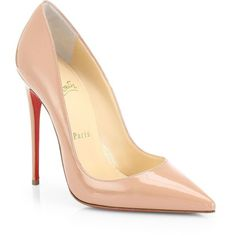 Christian Louboutin So Kate 120 Patent Leather Pumps found on Polyvore