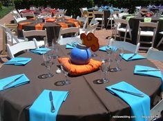 Zelda theme - reception tables