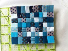 Crossed blue