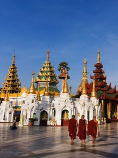 Temples are a frequent site on any trip to Asia, but these are the most beautiful, most historic, and most unmissable stupas to put on your list. Myanmar Travel, Cambodia Travel, Travel Route, Asia Travel, Asia Cruise, Angkor Wat Cambodia, Shwedagon Pagoda, Buddhist Temple, Future Travel