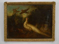 Italian Renaissance picture animals oil