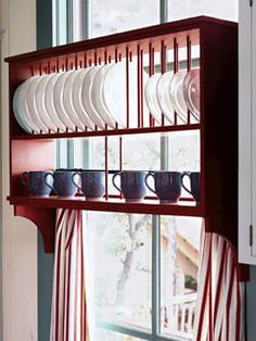 good use of space  maybe just one level in small window     --Shared by WhatnotGems.Etsy.com Shop Etsy!