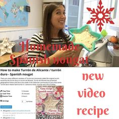 This week I pulled a prank on social media for día de Los Santos inocentes (our Spanish April fools day) and most people believed I was going to be in Masterchef  I was amazed how many people believed I could actually do it and they were disappointed to hear it was a joke.  Hoping this sweet recipe makes up for it!  New blog (video  printable recipe) online about how to make to Turrón de Alicante (duro) #turrón #turróndealicante #recipe #spanishfood #spain #foodiegram #valencia #vlc…