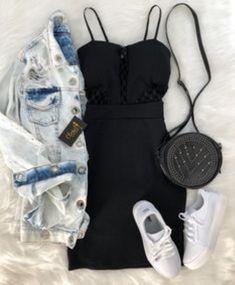 Women S Fashion Stores Queenstown Code: 4162693626 Tumblr Outfits, Chic Outfits, Trendy Outfits, Girl Outfits, Fashion Outfits, Tumblr Clothes, Fashion Moda, Look Fashion, Teen Fashion