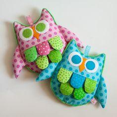 Crinkle Owl baby toys