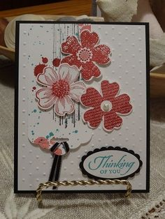 One of my Stampin' Up! convention swaps.  Visit www.stampinfunwithlynne.stampinup.net to see other projects