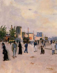 Jean Béraud, Promenade matinale
