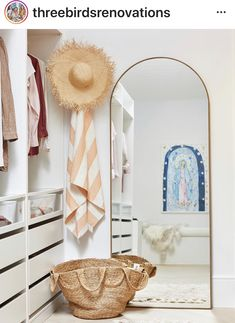Walk-in-Robe - Three Birds Renovations House 10 Boutique Interior, Three Birds Renovations, Dressing Room Closet, Create A Family, Piece A Vivre, Room Organization, Architrave, Home And Family, Bedroom Decor