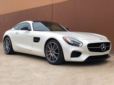 Nice Great 2016 Mercedes-Benz AMG® GT AMG® GT S Mint 2016 Mercedes-Benz GTS AMG Rare Color Combo WHITE ON RED INTERIOR 2018