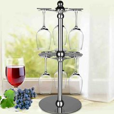 Under Counter Wine Glass Rack - Decor Ideas Wine Glass Rack, Bar, Tiered Cakes, Counter, Decor Ideas, Wine Cellars, Wine Decanter