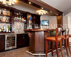 Family Room Bar Design, Pictures, Remodel, Decor and Ideas - page 4