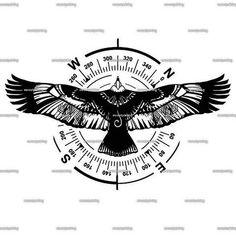 New Forearm Tattoo Drawings Art Designs Ideas Back Tattoos, Leg Tattoos, Small Tattoos, Tattoos For Guys, Sleeve Tattoos, Small Eagle Tattoo, Eagle Tattoos, Indian Tattoos, Kleiner Adler Tattoo