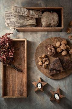 Tavă dreptunghiulară din lemn | H&M