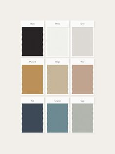 Color palette designed for Feather & Twine, an Austin-based wedding photography studio