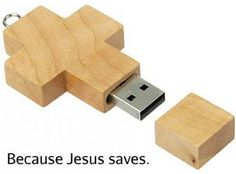 Because Jesus saves.