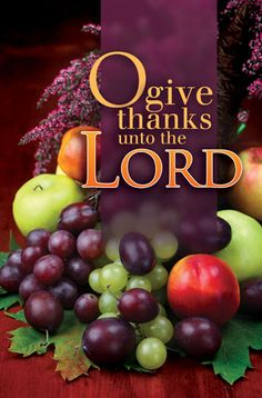 Image result for give thanks unto the lord for he is good kjv
