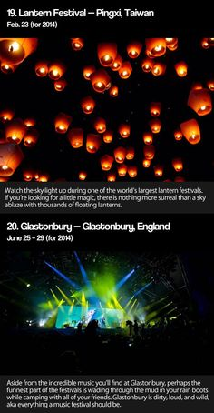 Most important festivals around the world #lifesthayle