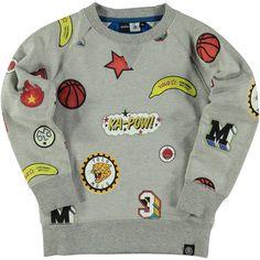 Molo Jungen Sweater, MCKay Patch Aop 39,95€ www.frohtag.de