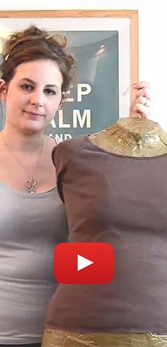 Réaliser un mannequin sur mesure. http://rienquedugratuit.ca/videos/realiser-un-mannequin-sur-mesure/