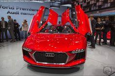 FRANKFURT MOTOR SHOW: The Agents Get A CLOSER Look At The Audi nanuk concept's EXTERIOR