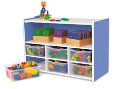 Kids Colors™ Open Shelf & Cubby Center at Lakeshore Learning