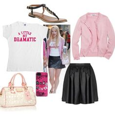 Mean girls outfit Regina Mean Girls Halloween Costumes, Mean Girls Costume, Girl Costumes, Costume Ideas, Mean Girls Outfits, Cute Outfits, Teenager Outfits, Clueless Outfits, Dress Up Day