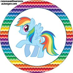 My Little Pony Rainbow Dash Childrens Birthday Tshirt, good pose for quilt design My Little Pony Party, My Little Pony Cumpleaños, Fiesta Little Pony, My Little Pony Stickers, My Little Pony Poster, Little Poney, My Little Pony Friendship, Rainbow Dash Party, Baby Pony