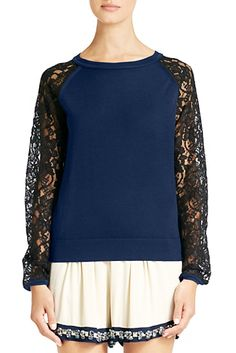 is a must have trend this spring! Lace Sweater, Spring Trends, Fashion Outfits, Womens Fashion, Short, Spring Summer Fashion, Beautiful Outfits, Dress To Impress, Style Me