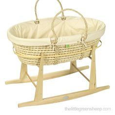 Moses Basket Rocking Combi Stand | The Little Green Sheep