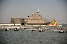 Littoral Combat Ship U.S.S. Independence.