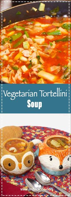 If you're looking for a simple vegetable soup recipe that will please a mixed crowd (vegetarians and meatatarians), check out this vegetarian tortellini soup recipe! Low in calories, high in nutrition, and super-easy to prepare. Beef Tater Tot Casserole, Grilled Tofu, Vegetable Soup Recipes, Pleasing Everyone, Tortellini Soup, Vegetarian Soup, Cooking Recipes, Slow Cooking, Keto Recipes
