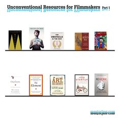 Unconventional Resources for Filmmakers - Recommended resources for Creatives - Part 1 - mentorless.com