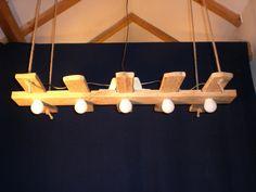 Hängelampen - Hängelampe aus Akazienholz - ein Designerstück von FamilieBrendel bei DaWanda