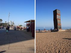 Our Barceloneta Beach Apartment is in a superb location. It is central and near the beach! Barceloneta Beach, 1 Bedroom Apartment, Seaside, Sidewalk, Modern, Trendy Tree, Sidewalks, Pavement, Walkways
