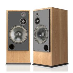 Inspiration! ATC SCM150ASLT Tower loudspeakers and inbuilt electronic crossover and tri-amping Amp Pack