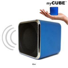 I found this amazing MyCube Portable Mini Speaker for iPhone, Droid, Tablet or Laptop at nomorerack.com for 66% off. Sign up now and receive 10 dollars off your first purchase