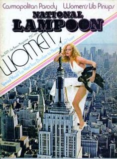 National Lampoon was a ground-breaking American humor magazine. National Lampoon Magazine, Cartoons Magazine, American Humor, Book And Magazine, Magazine Covers, Newspaper Headlines, National Lampoons, Creature Feature, Illustration Girl