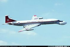 De Havilland DH-106 Comet C4 - Was operated by Royal Aircraft Establishment Bedford on Nimrod AEW radar trials. The aircraft was later scrapped at Bedford.