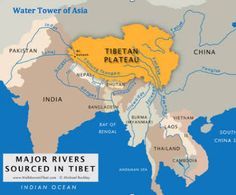map of rivers in asia - Google Search