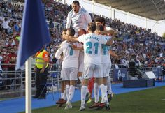 RECORD....Real Madrid become the FIRST side in LaLiga history to win 13 consecutive away games.. RM vs Getafe  LaLiga 2017-18