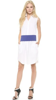 Dvf Dresses Dilly Ceramic Tunic Dress a girls in white dresses