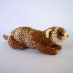 crocheted ferret - Google Search