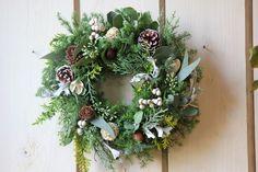 森のクリスマスリース(ナンキンハゼ)キャンドル付の画像2枚目