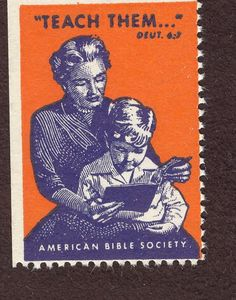 teach your kids the Bible 1956