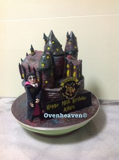 Harry Potter Hogwarts School Of Witchcrafts And Wizardry - CakeCentral.com