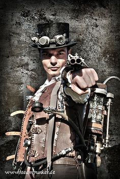 Steampunk weaponeer
