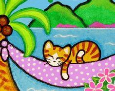 Kona le chat pensé que son manteau noir avait l'air très beau contre les fleurs colorées! C'est une copie de ma peinture acrylique sur toile. Il aurait l'air doux feutré & encadré! J'ai utilisé Ultra Premium Epson papier mat et des encres d'archives. Il y a 2 tailles au choix: L'image mesure 3 1/4 X 10 sur papier 8 1/2 X 11 avec une bordure blanche pour l'encadrement. OU L'image mesure 4 1/2 X 8 sur papier 8 1/2 X 11 avec une bordure blanche pour l'encadrement. ...